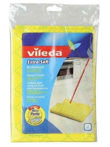 იატაკის საწმენდი ტილო ძლიერი აბსორბაციის უნარით Vileda Extra Soft 59x50 სმ.