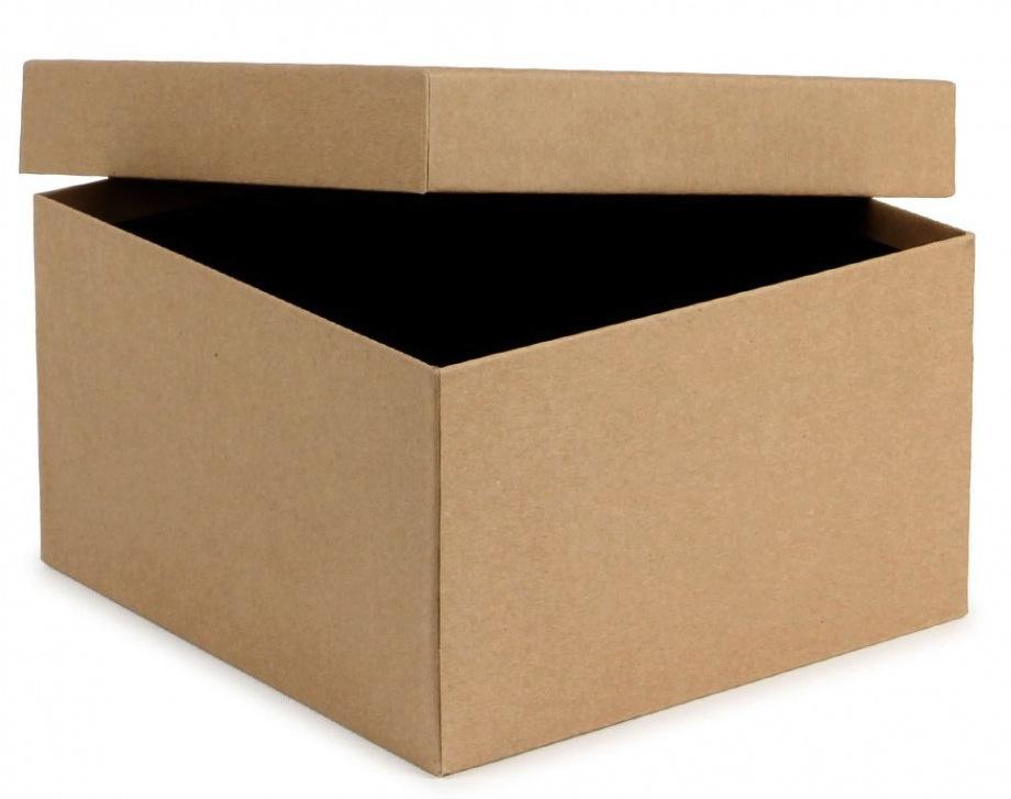 კრაფტის პატარა სასაჩუქრე ყუთი თავსახურით