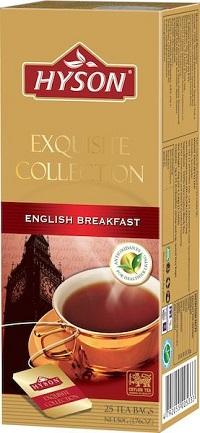 Hyson English Breakfast 25 ც. ერთჯერადი შავი ჩაი