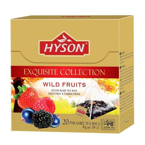 Hyson Wild Fruits  20 ც. ხილის ჩაი პირამინდა