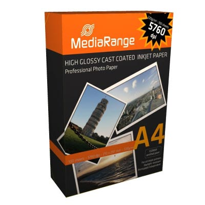 ფოტო ქაღალდი  A4 Media Range 220გრ. 100ც.