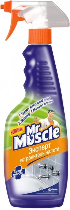 ჟანგის და ნადების მოსაშორებელი სპრეი Mr. Muscle 500 მლ.