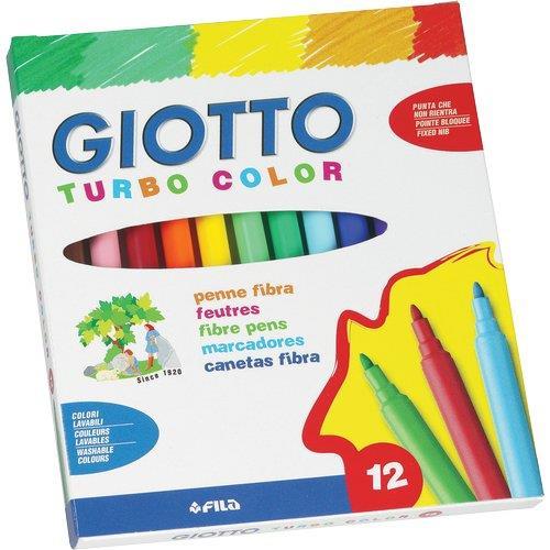 12 ფერიანი ფლომასტერი GIOTTO Turbo Color