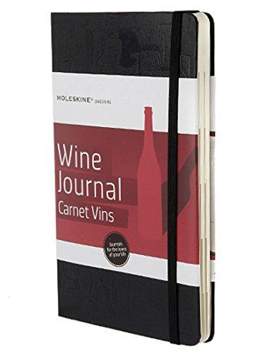 წიგნაკი Moleskine Passion: Wine (ღვინის ექსპერტებისთვის) A5