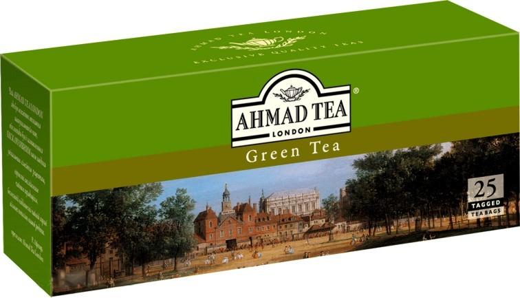 Green Tea - ჩაი აჰმადი უკონვერტო