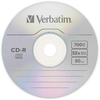 CD-R Verbatim 52x700MB