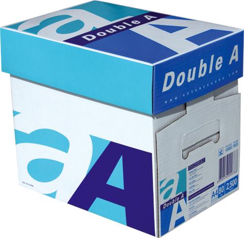 ქაღალდი A4  Double A 80 გრ. ყუთით