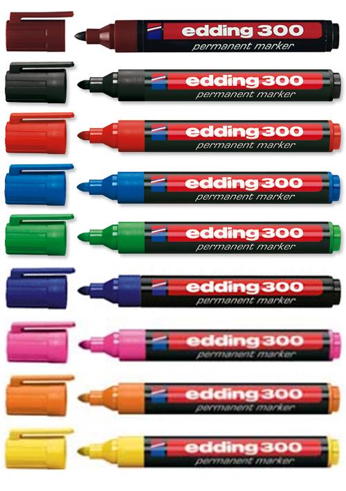 პერმანენტული მარკერი edding-300
