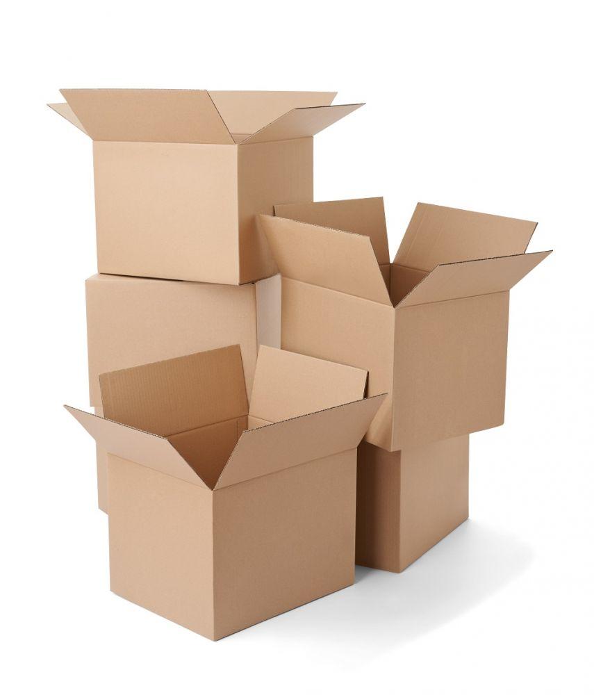 საშუალო ზომის ყუთი 40x34x34 20 ც.