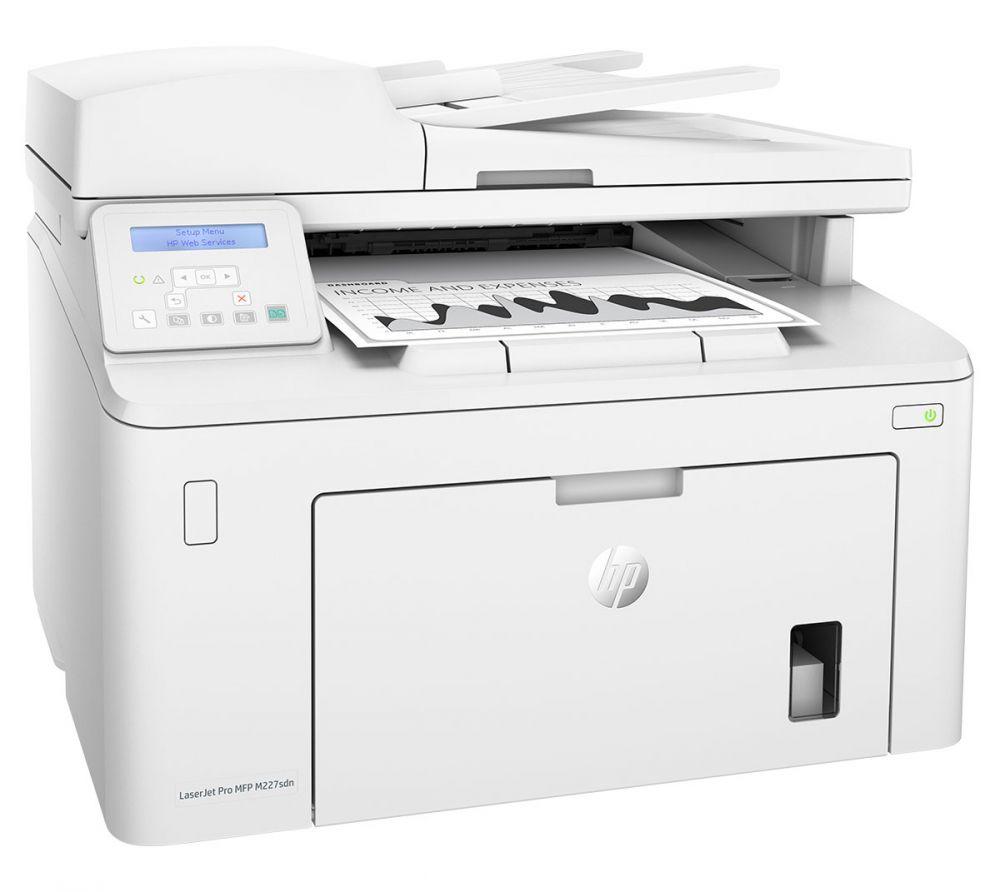 HP LaserJet Pro MFP M227sdn ბეჭდვა, კოპირება, სკანირება, ფაქსი