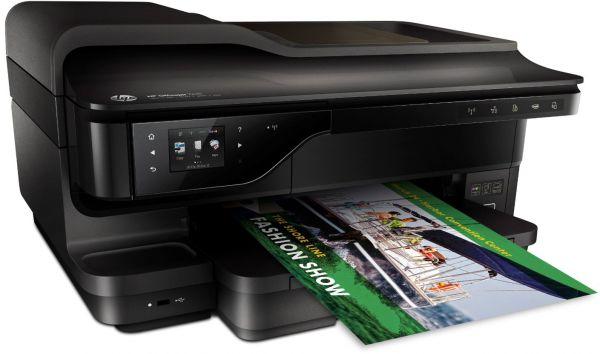 A3+ ფერადი ჭავლური პრინტერი, სკანერი, კოპირება, ფაქსი HP Officejet 7612