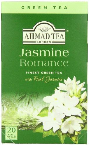 Jasmine Romance-მწვანე ჩაი აჰმადი კონვერტით 20 ც.