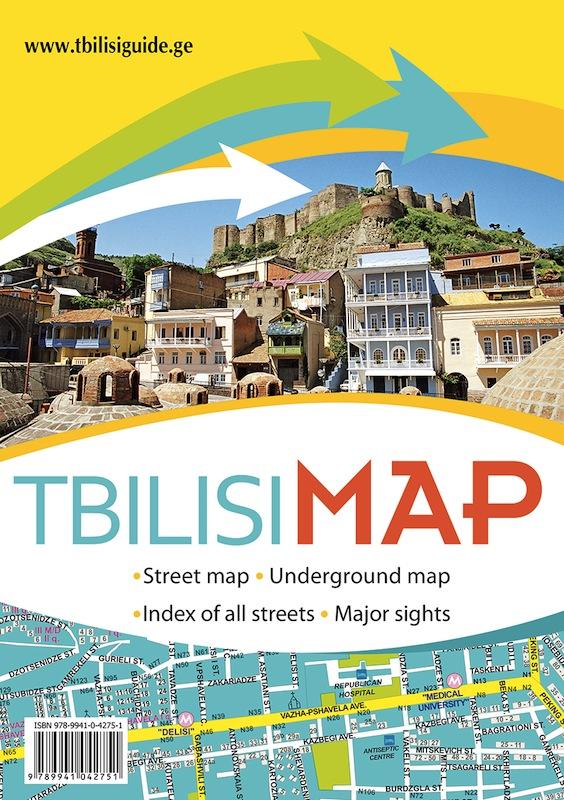 Tbilisi Map