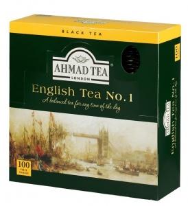 English Tea No.1 ჩაი აჰმადი კონვერტით