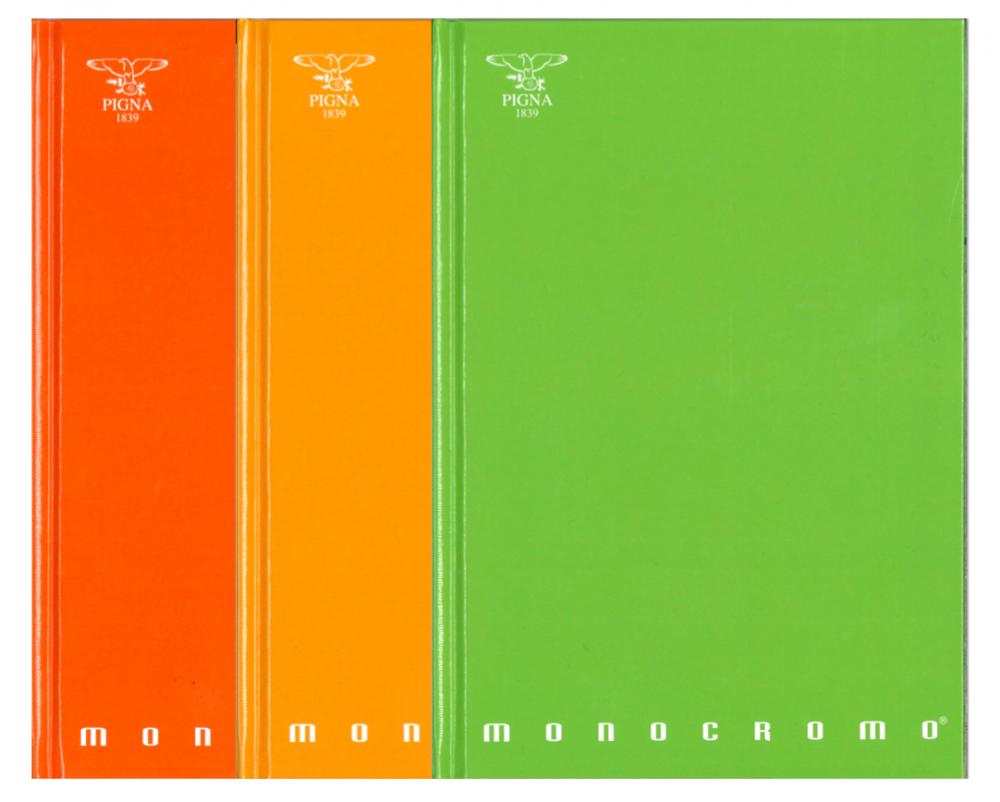 A5 რვეული Monocromo მაგარ ყდაში