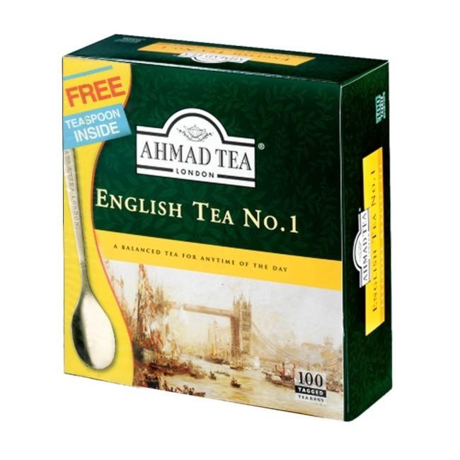 English Tea No.1 ჩაი აჰმადი + საჩუქარი
