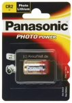 ბატარეა Panasonic Photo Lithium 3V 1BP CR-2L/1BP