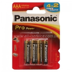 ბატარეა Panasonic Pro Power AAA 6BP LR03XEG/6B2F