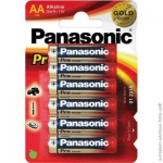 ბატარეა Panasonic Pro Power AA 6BP LR6XEG/6B2F